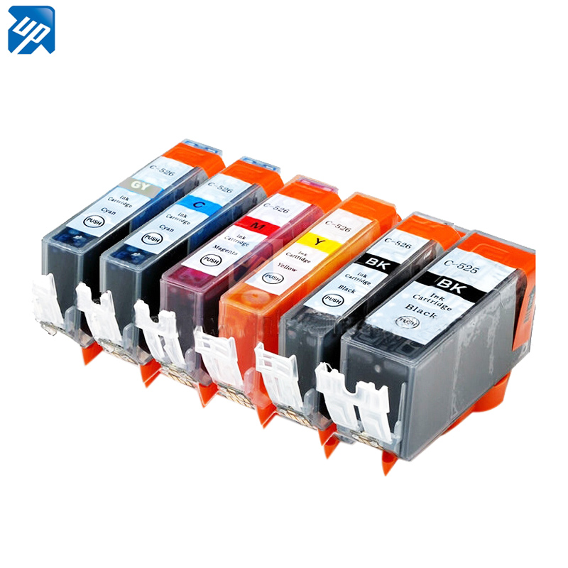 30 x PGI525 CLI 526 BK C M Y GY ink cartridge for CANON PIXMA MG6100