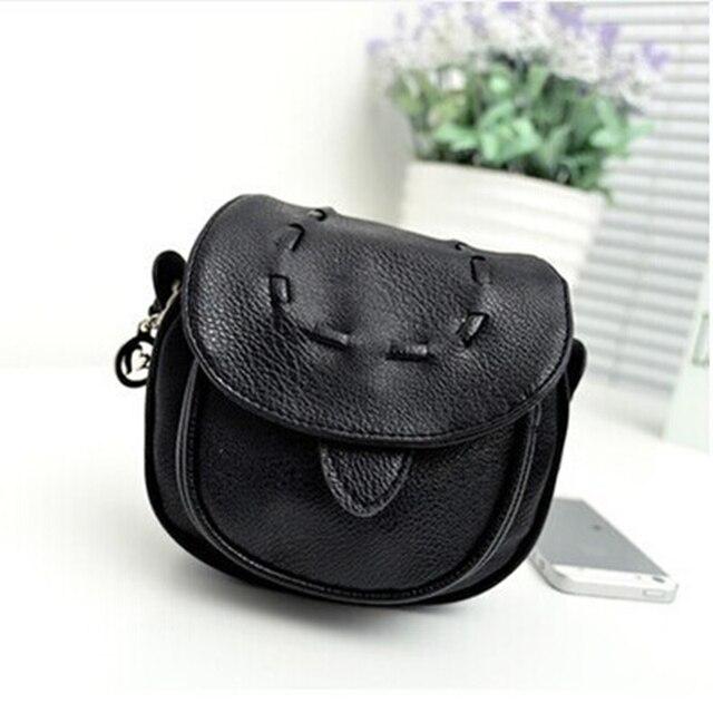 2017 Women Messenger Bags Ladies Women Cross Body Bag PU Leather Black Brown Mini Small Bags Female Shoulder Bags Bolsa Feminina