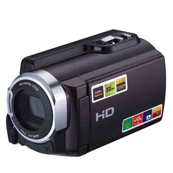 1080P 16X Hdv-5053Str Portable Camcorder Full Hd Digital Zoom Digital Video Camera Recorder Dvr With Wifi 8Mp Press Screen(Eu