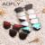 Aofly moda gafas de sol de las mujeres populares marca diseño hd lente polaroid polarizado gafas de sol de verano gafas de sol con la caja original