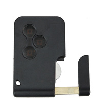 New 3 Buttons Remote Car Key Fob 433MHz PCF7947 Fit For Renault Megane Scenic 2003 2008