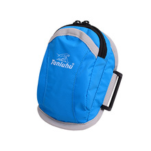 TANLUHU Sport Bag Easy Design Nylon Working Fitness center Armband Leisure Exercise Outside Double Zipper Wrist Pack For iPhone