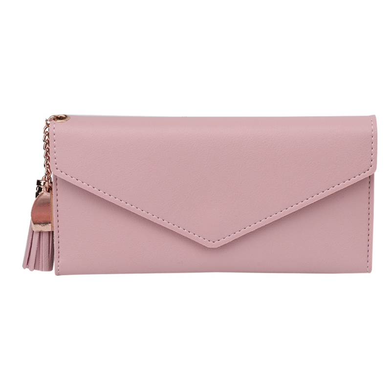 2017 Fashion Lady Women Leather Clutch Wallet Purse Handbag Long Card Holder Pendant New Elegant Lady Solid Hasp Vintage Bags 2016 new high quality ladies purse fashion women bifold leather clutch card holder purse long handbag female long section wallet