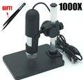 USB цифровой микроскоп 50X/1000X8 светодиодный SMD светильник 2MP эндоскопическая камера + подъемный Стенд Микроскоп Бесплатная доставка - фото