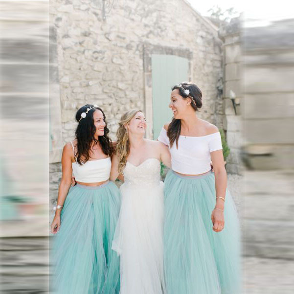 Mint Green Pure And Fresh Skirts Multi Layered Tulle Skirt Long Bridesmaid Dresses