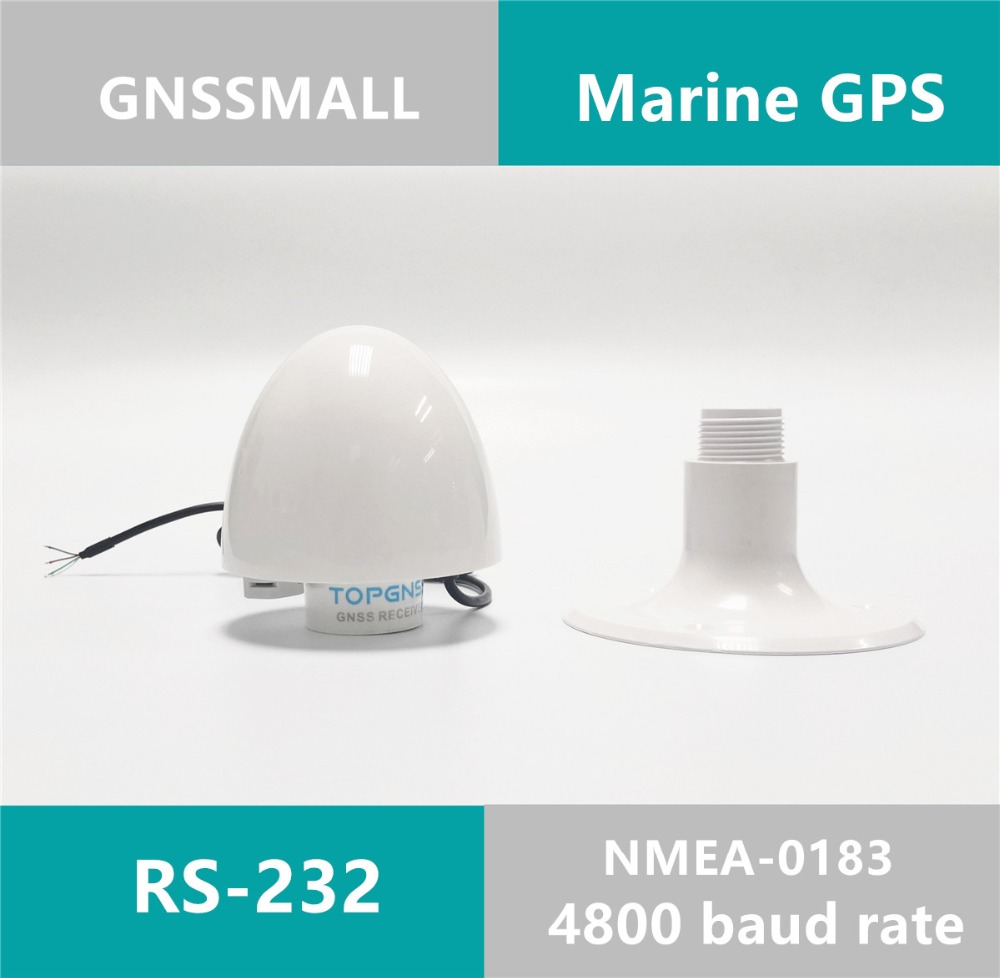 Marine GPS Receiver Ship Antenna Module NMEA 0183 Baud Rate 4800 DIY Connector