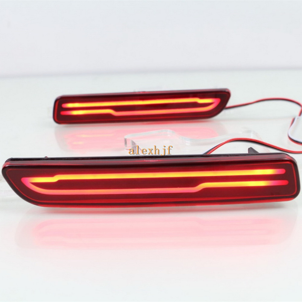 Julio King LED Light Guide Brake Llights + Night Driving Lights - Luces del coche