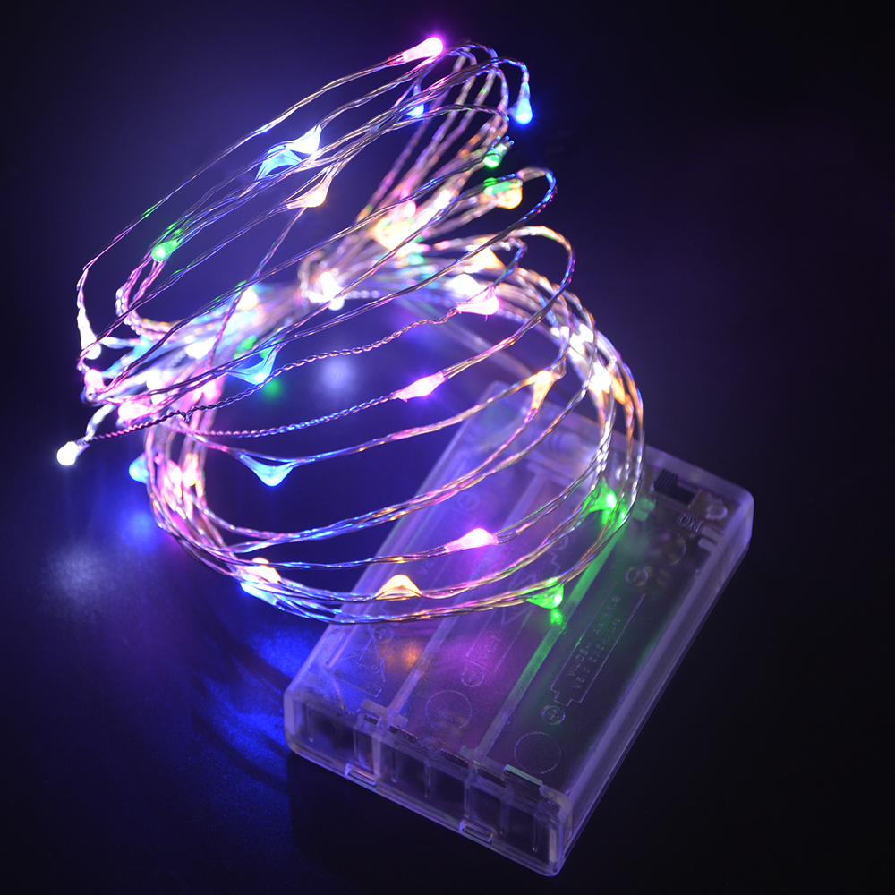 2m 5m led strip light 3pcs aa battery powered rgb copper wire 2m 5m led strip light 3pcs aa battery powered rgb copper wire holiday string lighting for fairy christmas trees party home light in led strips from lights aloadofball Choice Image