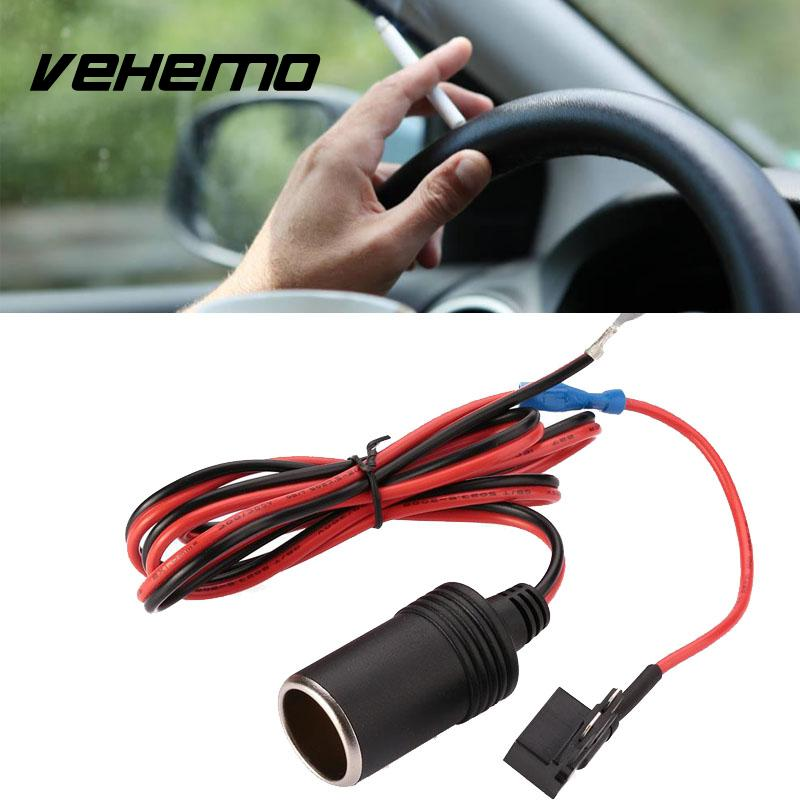 Vehemo держатель предохранителя неэтилированный штекер автомобильный прикуриватель 1 м 1,5 мм расширение пластик