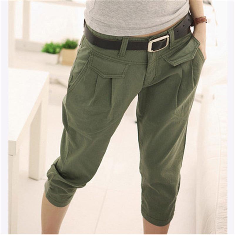 Popular Green Pants Women-Buy Cheap Green Pants Women lots from ...