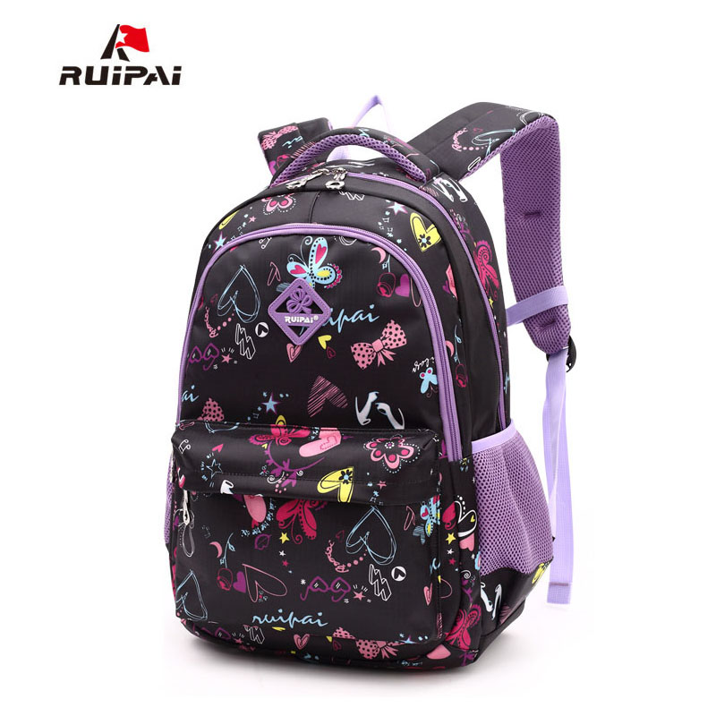 e9c1963743cb RUIPAI Kids School Bags Children Backpacks Girls and Boys Backpack  Schoolbag Mochila Bookbag Big Size Kids Baby Bags-in School Bags from  Luggage   Bags on ...
