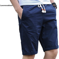 Summer Cotton Shorts Men Fashion Brand Boardshorts Breathable Male Casual Shorts Comfortable Plus Size Cool Short