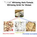 Natural Ervas Fórmula de Clareamento, limpeza de Espinhas e Acne, melhorar a Textura Da Pele, 100% Eficaz