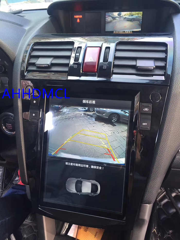 Car PC PAD Tesla Style Multimedia Player Android 7.1 GPS For Forester XV Auto AC Edition 2012 2013 2014 2015 2016 2017