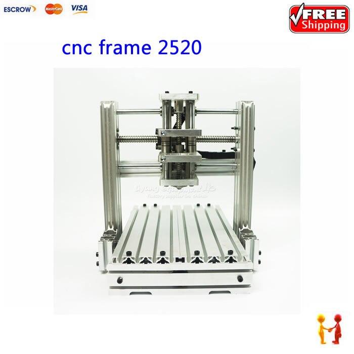 HOT SALE DIY CNC machine 2520 Base frame kit for cnc engraving router wood lathe  цены