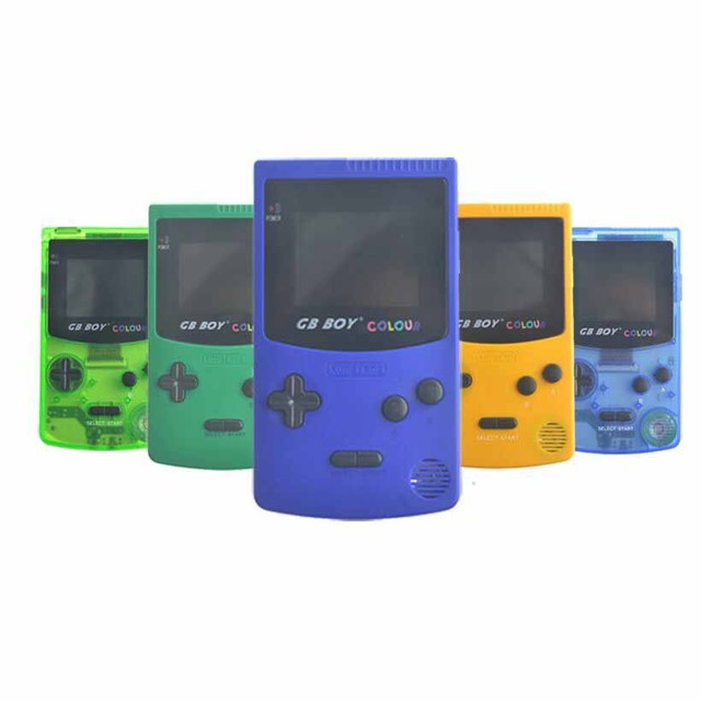 GB Boy Classic Color Handheld Game Console Game Player with Backlit 66 Built-in Games Juegos For Children For Kids 5 Colors