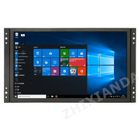 Full Viewing 1920*1080 11.6 inch Wide Industrial Open Frame Capacitive Touch Monitor With VGA/HDMI/USB Interface Speakers