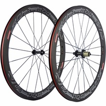 SUPERTEAM 700C Carbon Road Bike Wheelset Clincher 50mm Carbon Wheels R13 Racing Bicycle Wheel Carbon 3K Matte(China)