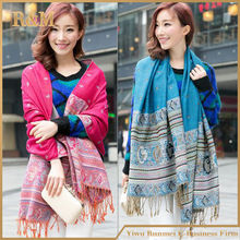 Brand Cashmere Luxury Winter Scarf Women Shawl Printed Female Foulard Free Shipping