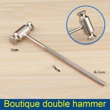 Bone Hammer Boutique Double Skull Hammer Claw Hammer Beauty Shaping Stainless Steel Instrument Makeup Tool Kit дальномер ультразвуковой hammer gravizappa dus 16