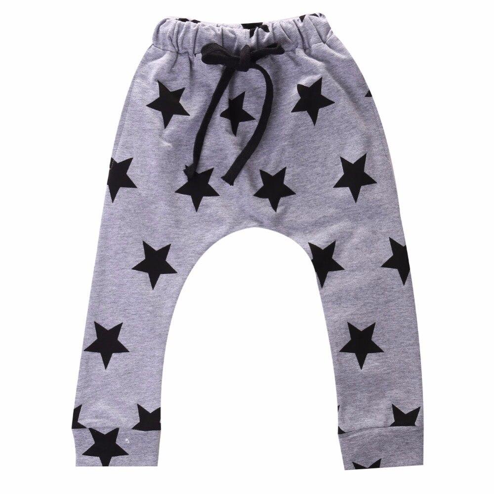 2017 Toddlers Baby Boy Pants Stars Pattern Kids Harem Pants 100