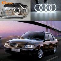 For Volkswagen VW Santana 3000 headlight Excellent Angel Eyes Ultra bright illumination CCFL angel eyes kit Halo Rings