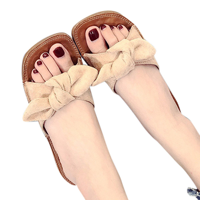 Women's Fashion Casual Shoes Outdoor Slippers –  Flat-Heeled Shoes