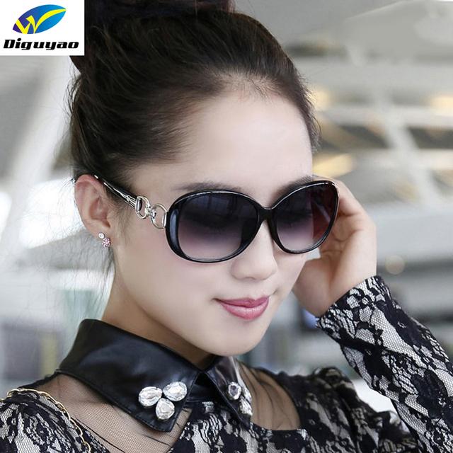 Designer Brand Gradient Lens Sunglasses