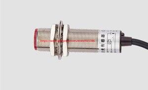 Image 4 - 1 stks M18 laser sensor/6 36 V zichtbaar diffuse infrarood sensor switch NPN optische switch Verstelbare 2 50 cm