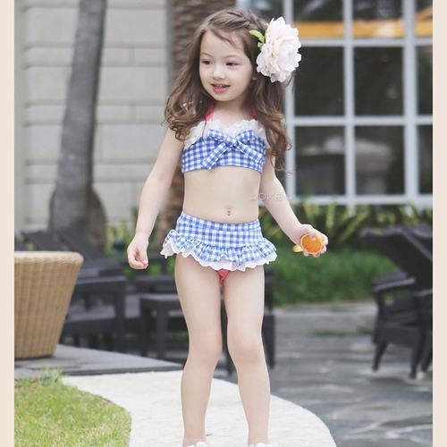 Children Swimwear Girls Princess Skirt Swimwear Baby Kids -5888