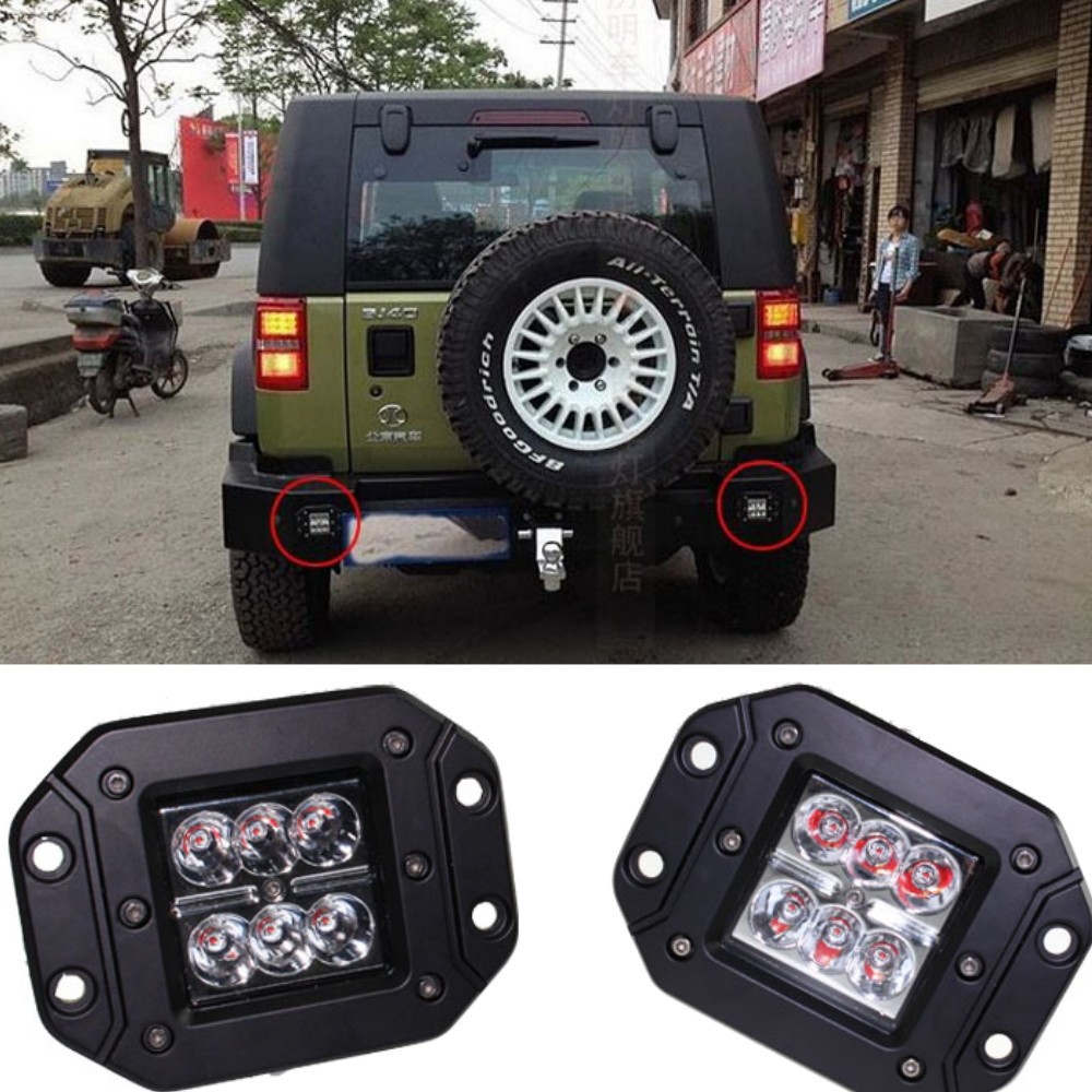 18w Cree Led Car Styling Driving Fog Light Lamp Offroad