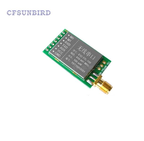5PCS/LOT SX1278/SX1276 wireless module | 433MHZ wireless serial | LORA spread 3000 m | UART interface industrial grade lora wireless transmission module spread spectrum transceiver sx1278 serial transceiver yl 800d