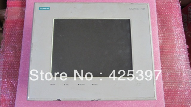 A segunda mão e original HMI 6AV3637-1PL00-0AX0 com boa qualidade 100% testado ok garantia 120 dias