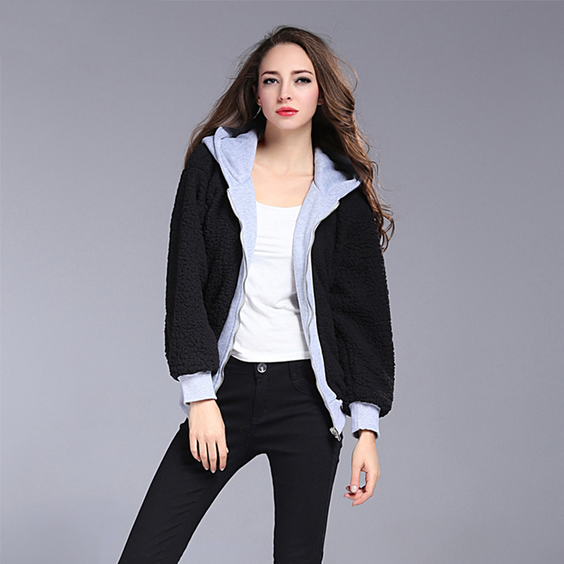 New Arrivals Autumn And Winter Lambs Wool Coats Women 2017 ...