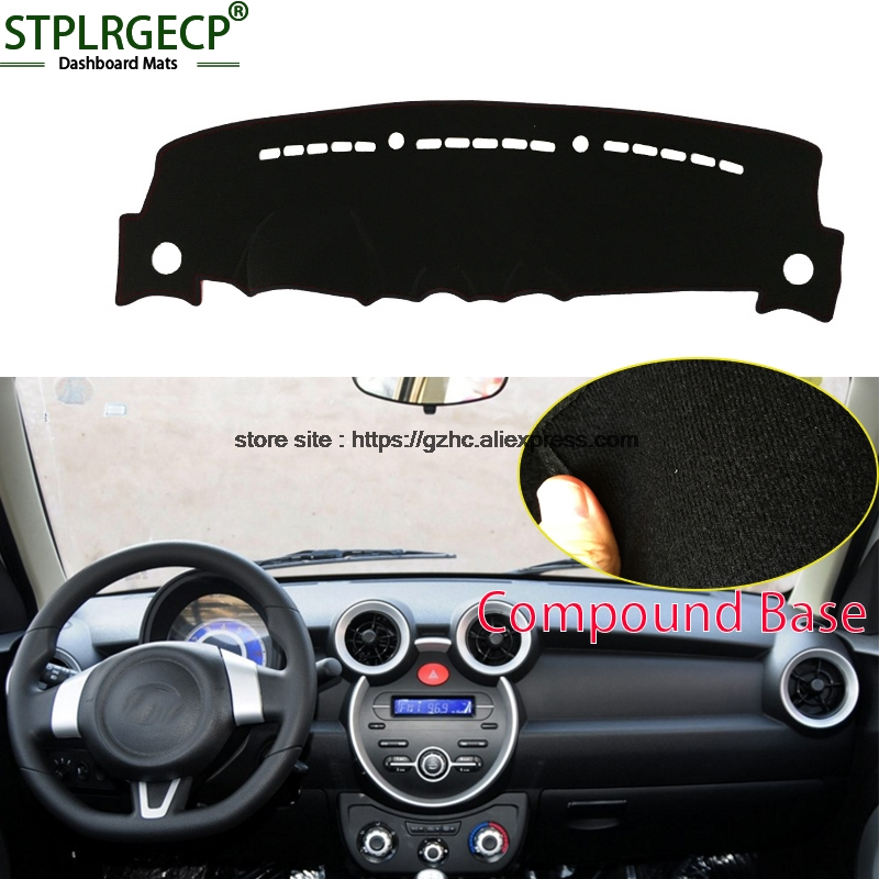 StplrgeCP For lifan 330 doulbe layer Car Dashboard Cover Avoid Light Pad Instrument Platform Dash Board Cover Sticker датчик lifan auto lifan 2