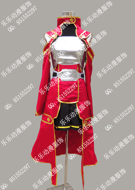 Free shipping   SAO shirika costume cosplay Sword Art Online Cosplay Costumes