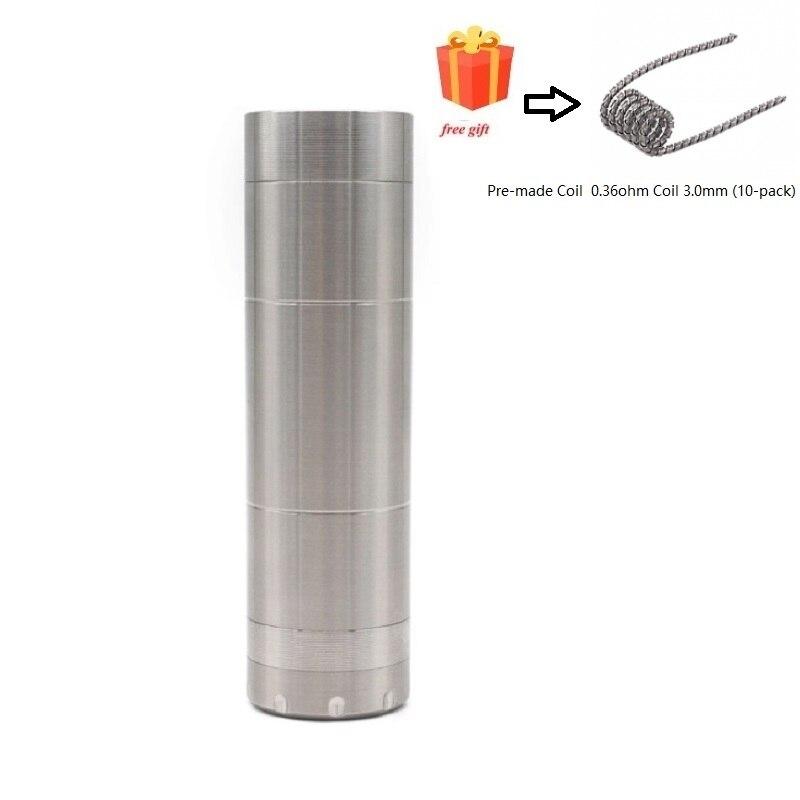 ULTON haute qualité Mécanique style Mech Mod fit 18650/20650/20700/21700 batterie pour 510 filetage atomiseur