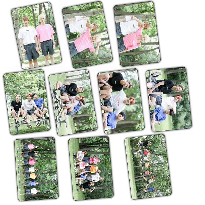 Kpop Bangtan Boys bts kristall card bus aufkleber angebracht ein set von...