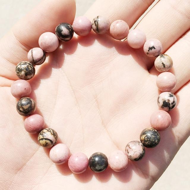 Bracelet De Rhodonite Lauren Steven