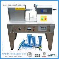 Free Shipping QDFM 125 Ultrasonic Soft Tube Sealer Machine Plastic Aluminium Tubes Sealing Edge Cutting Date