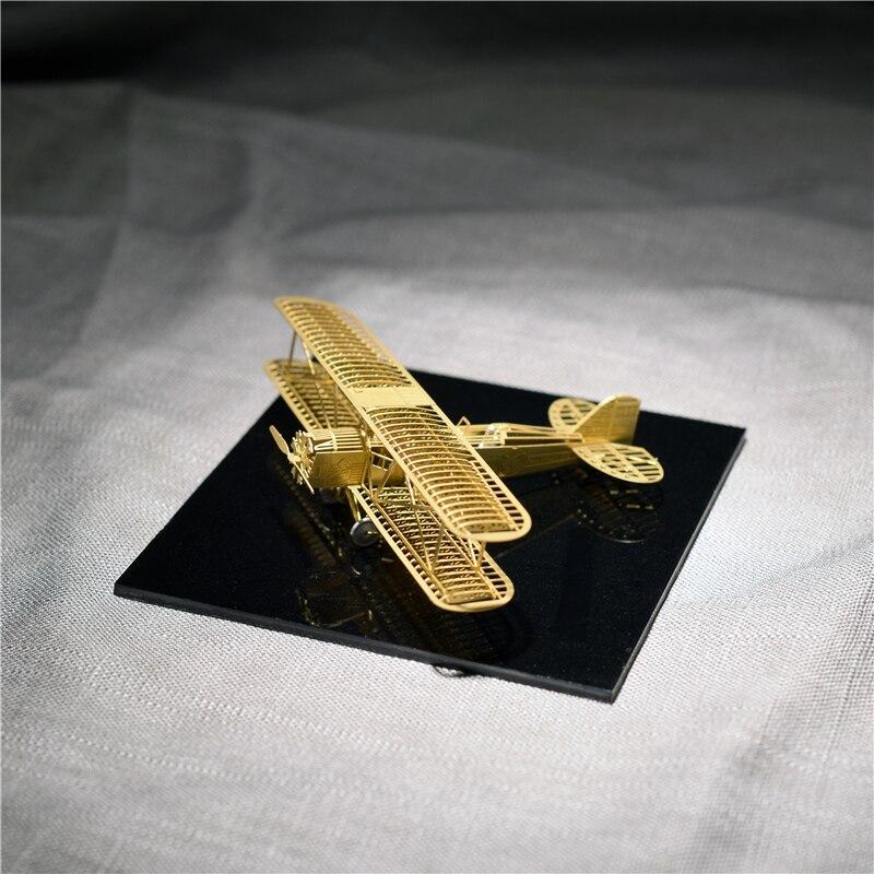 1/160 Boeing 40 Model bingkai pesawat DIY Tidak perlu menggunakan gam - Teka-teki - Foto 5