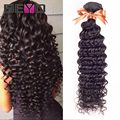 Thick Peruvian Deep Wave 7A Peruvian Virgin Hair Weave 4 Bundles Peruvian Curly Hair Soft Peruvian Hair Human Hair Extensions