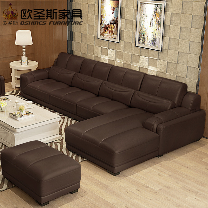 New Model L Shaped Modern Italy Genuine Real Leather Sectional Latest Corner Furniture Living Room Sofa Set 120 Aliexpress Imall