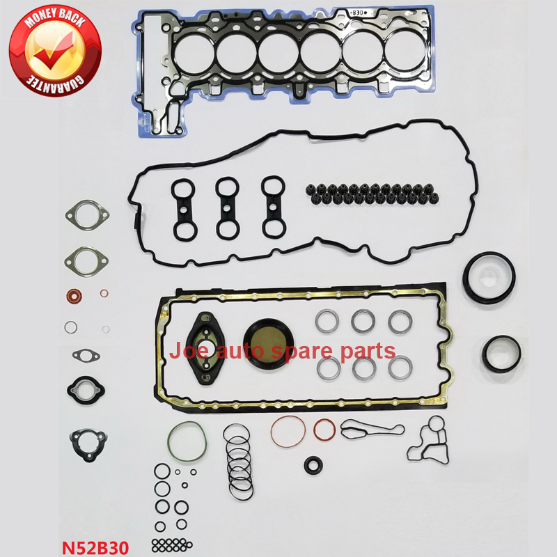 N52B30 N52B30A Full gasket set kit for BMW 730i 730Li Z4 530i 530xi X3 630i 130i 330i 330xi 328i X5 125i 128i 730i 2996cc 3.0LN52B30 N52B30A Full gasket set kit for BMW 730i 730Li Z4 530i 530xi X3 630i 130i 330i 330xi 328i X5 125i 128i 730i 2996cc 3.0L
