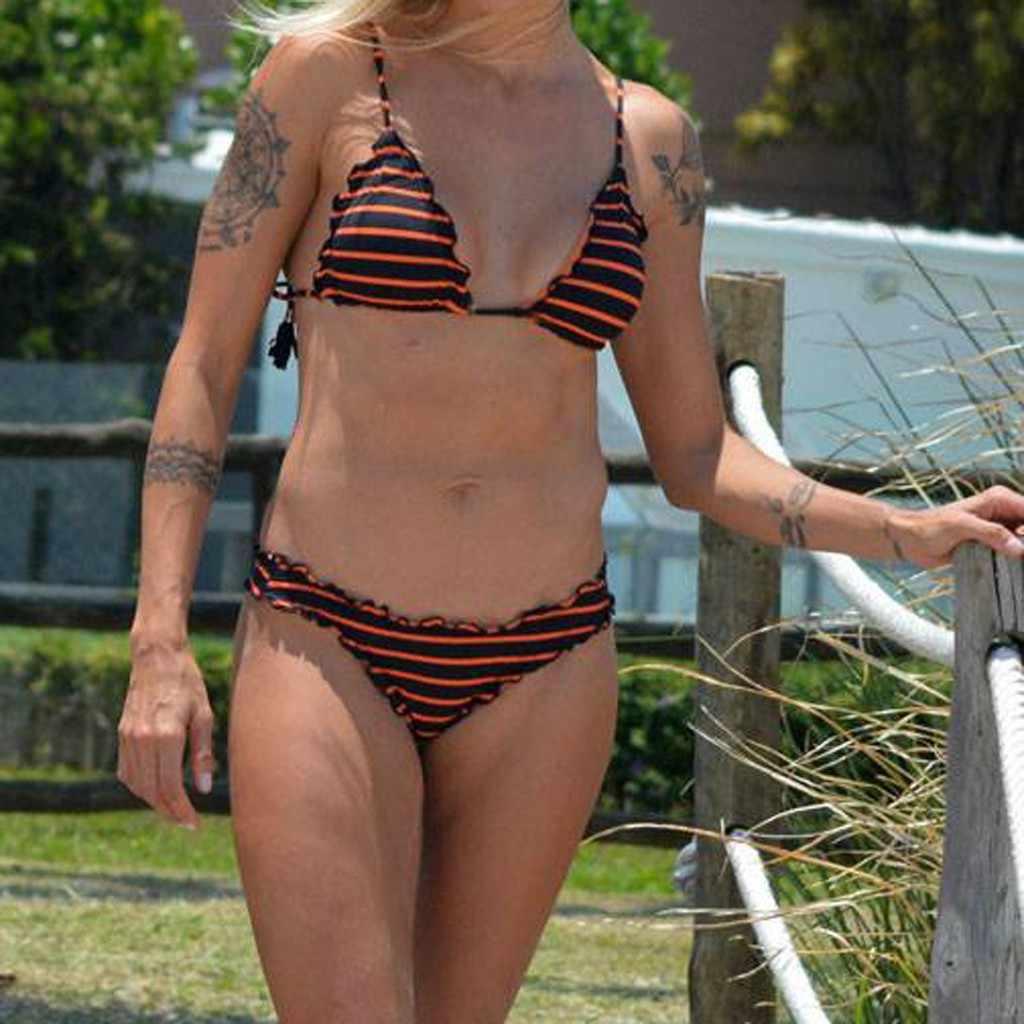 Bloemenprint Badpak Hoge Taille Bikini Braziliaanse Bandage Vrouwen Badmode Push Up Biquini 2019 Mujer Mayokini