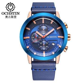 Reloj Hombre OCHSTIN Brand New Fashion Casual Business Watches Men Date Quartz Mens Watch relogios masculino erkek kol saati
