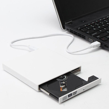 KuWfi USB 2.0 External DVD RW DVD CD RW Drive Writer Burner CD/DVD -ROM Player For WINDOWS XP/7/8/10 Mac Laptop все цены