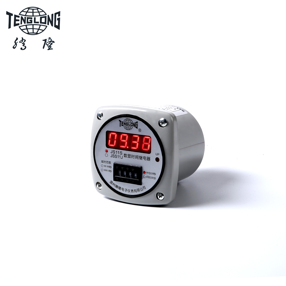 цена на JS11S/ JSS11J AC220V Electronic countdown time relay Time delay relay Timer for 999.9S
