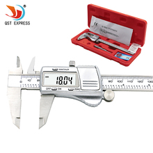 Discount! digital caliper 0-150mm /0.01 stainless steel electronic vernier calipers metric / inch micrometer gauge measuring tools