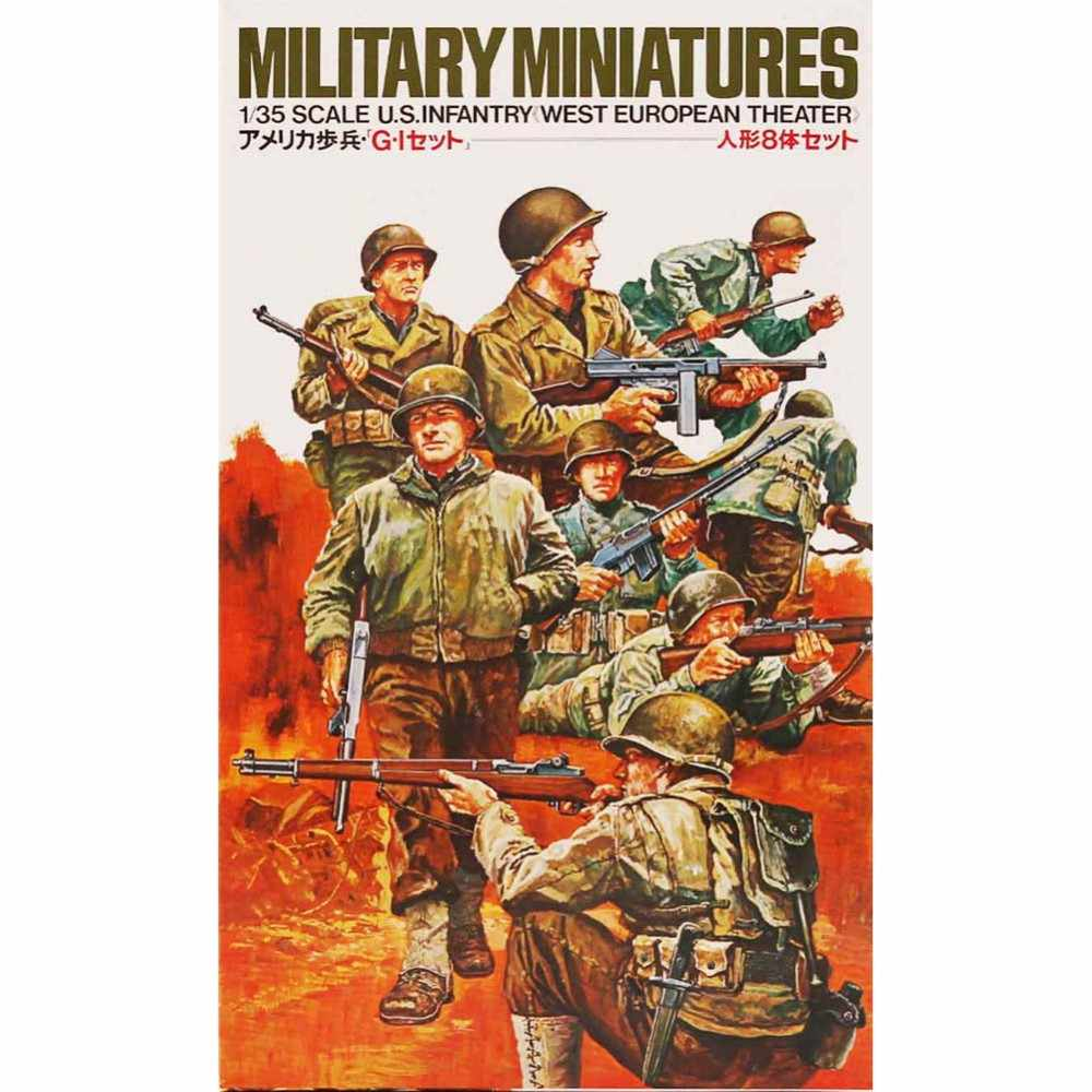 Tamiya 35048 1/35 US Army Infantry West Europese Theater Miniaturen Vergadering Militaire cijfers Model Building Kits oh RC speelgoed